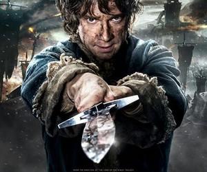 bilbo, the hobbit, and Martin Freeman image