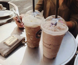 coffee, drink, and starbucks image