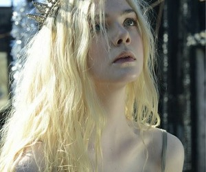 Elle Fanning, blonde, and pretty image