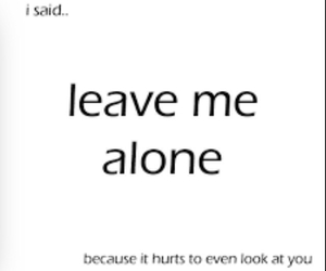 alone, because, and boyfriend image