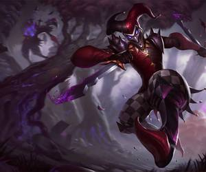 league of legends and shaco image