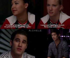 glee, darren criss, and on my way image
