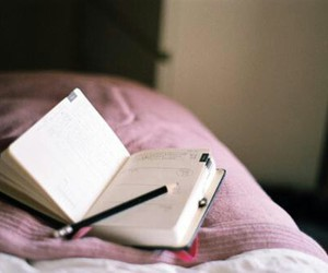 books and diary image