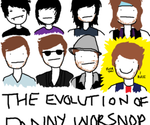 danny worsnop, evolution, and asking alexandria image