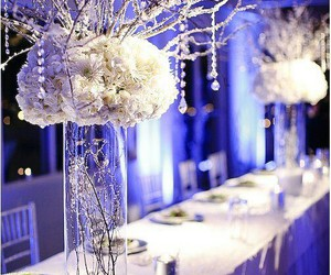 wedding, white, and winter image