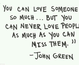 love, quote, and john green image