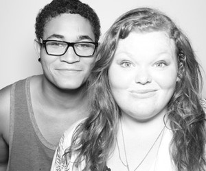hannah mcialwain, the glee project, and bryce ross-johnson image