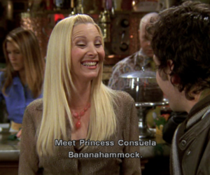 friends, phoebe, and princess image