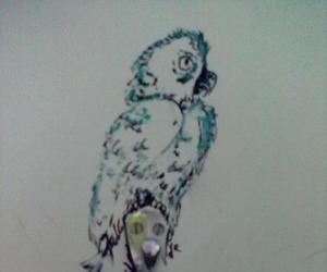 art, bird, and bohemian image