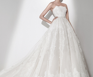 wedding dress, Couture, and wedding image