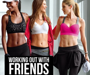 Behati Prinsloo, Doutzen Kroes, and fit image