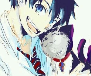 ao no exorcist, anime, and kuro image