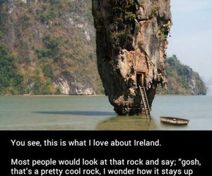 funny, ireland, and rock image