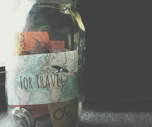 travel, guitar, and money image