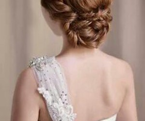 dress, hairstyle, and cute image