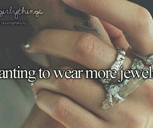 girly things and jewelry image