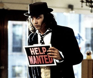 johnny depp and help wanted image