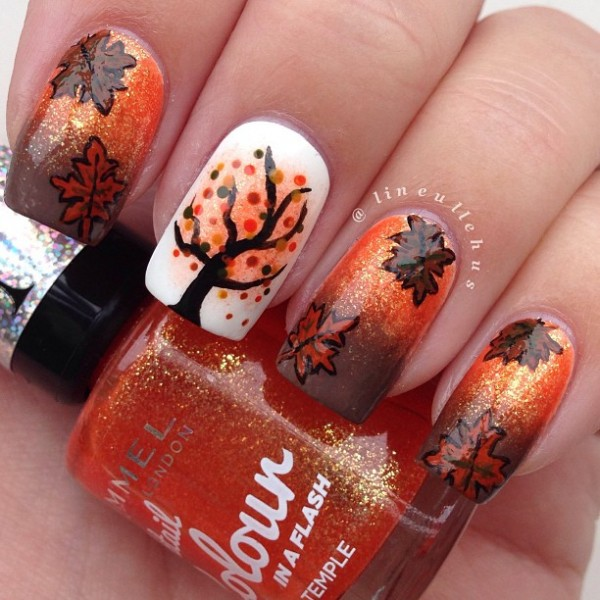 Fall Nail Art Ideas: 30 Designs Inspired by Autumn ...
