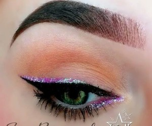 eyeshadow, makeup, and mua image