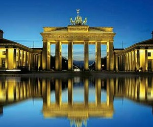 berlin, blue, and gold image