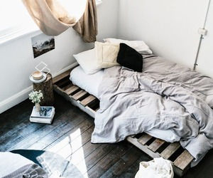 apartment, home, and bedroom image