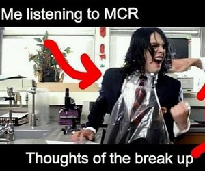 my chemical romance, frank iero, and funny image