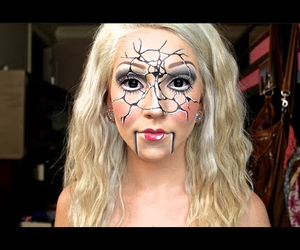 beauty, Halloween, and broken ventriloquist doll image
