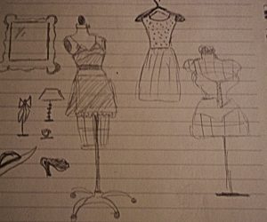 draw, fashion, and vintage image