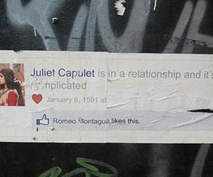 couple, facebook, and love image
