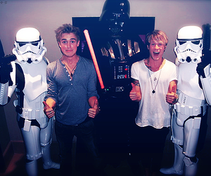 McFly, dougie poynter, and star wars image