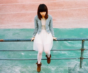 alone, asian, and asian girl image