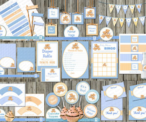 baby boy, decor, and decoration image