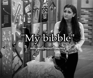 ariana grande, victorious, and bibble image