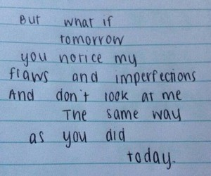 quote, tomorrow, and imperfection image