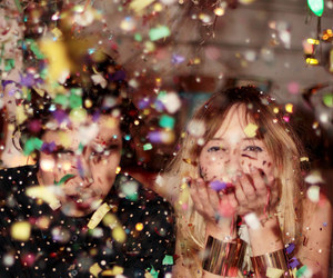 party, glitter, and fun image