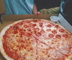 pizza, food, and tasty image