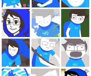 Collage, cutie, and homestuck image