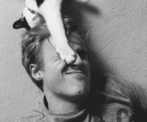 tom fletcher, cat, and McFly image