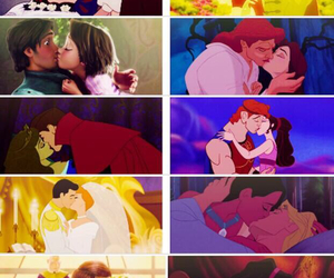 disney, kiss, and love image