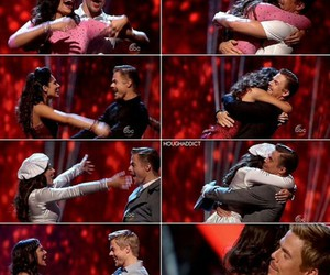 dancing with the stars, derek hough, and bethany mota image