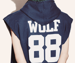 exo, sehun, and wolf image