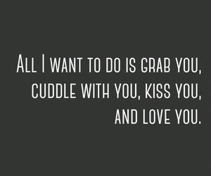 cuddle, kiss, and grab image