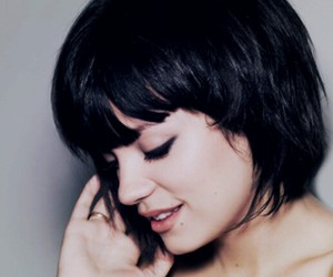lily allen, girl, and hair image