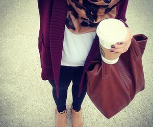 charlotte russe, starbucks coffee, and ootd image