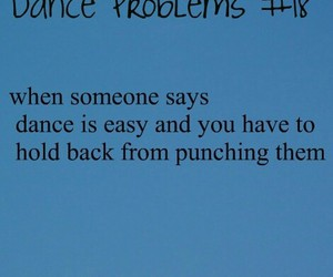 dance and problems image