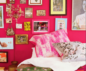 bed and pink image