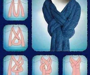 scarf and diy image