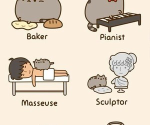 cat, pusheen, and career image