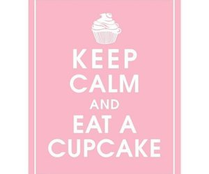 cupcake, quote, and pink image