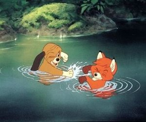 disney, friends, and fox image